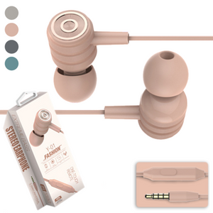 Luhe™ Y01 Earphones with Mic
