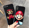 Mario Glass back Phone case