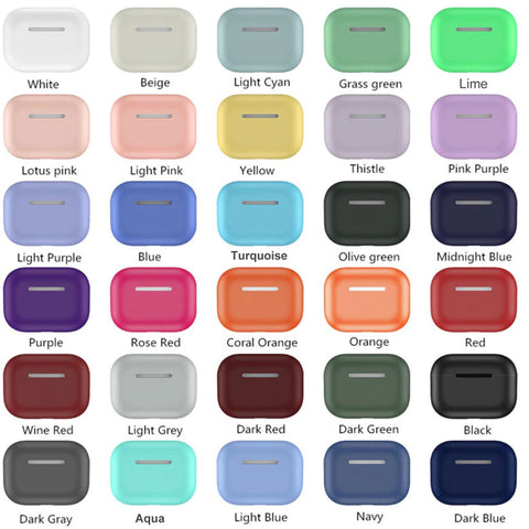 Thin Silicone Cases for Apple Airpods Pro