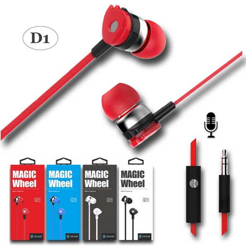 Celebrat Magic Wheel D1 Earbuds with Mic
