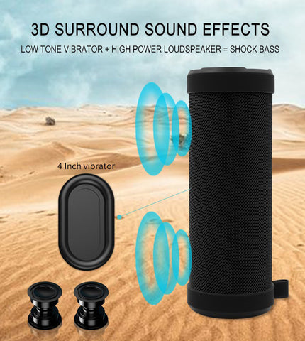 NBY 3060 Outdoor Wireless Bluetooth Speaker [Super Bass]