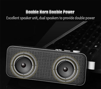 NBY BY1010 Portable Wireless Bluetooth Speaker With Enhanced Bass