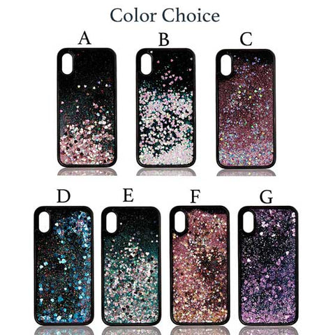 Quicksand Liquid Glitter Sparkling iPhone Case Cover[All Models]