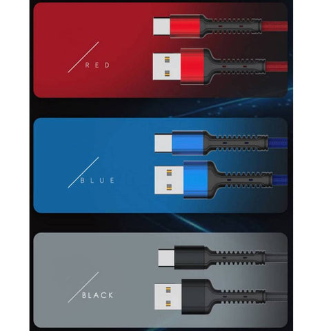 Image of 6Ft Premium⚡️2A Fast Charging Braided Cable [Super Thick]