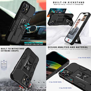 Robotok™ Hybrid iPhone Case cover with Kickstand Grip