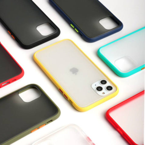 Image of 👌 Frosted Protective Case Cover for iPhone [10 colours]