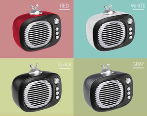 NBY 2270 Portable Mini Bluetooth Retro Wireless Speaker