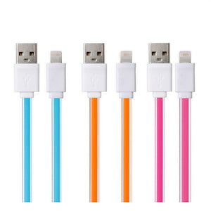 Wholesale Price Noodle Flat Micro USB Cable Data Sync USB Cable charging for Samsung S6 S7 Xiaomi Redmi 3 Huawei P8 Meizu 2 Mobile Phone Cables