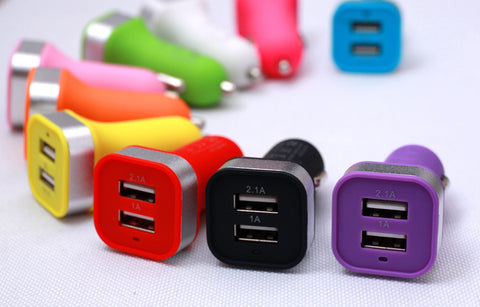 Image of oem bulk custom dual usb port car charger