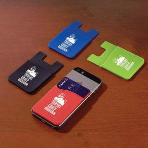Promotional item Credit card holder sticker for back iPhone samsung smart phone accessory