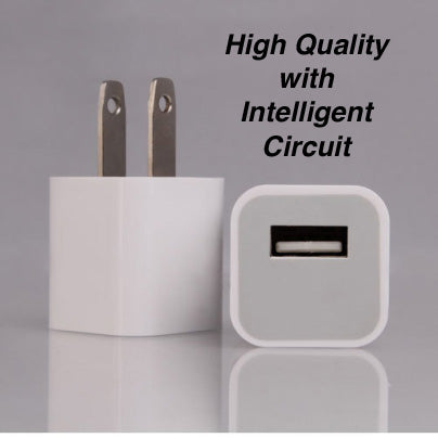 Image of Wholesale bulk lots oem iPhone wall charger adapter cheap price