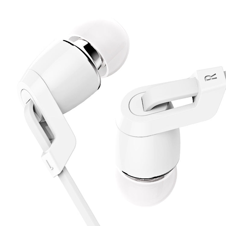 China Supplier wholesale Langsdom JM38 Flat wire earphones headsets