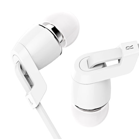 Image of China Supplier wholesale Langsdom JM38 Flat wire earphones headsets