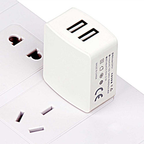 Image of China Supplier Private model CCC certification straight charge dual USB GB Travel Charger Fast Charger Factory Direct  Cheap Price  Wholesale USA Distributor Factory Bulk Lots  Manufacturer