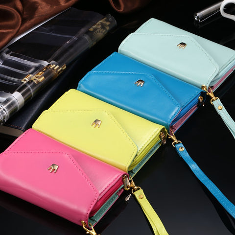 Image of cheap wholesale iPhone samsung cell phone accessories leather wallet case cover purse