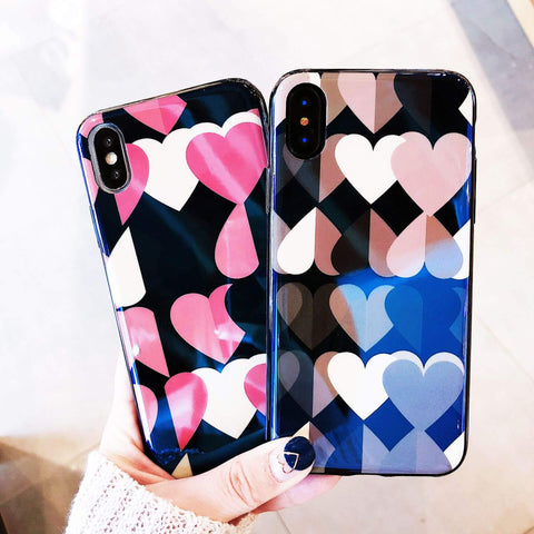Image of  China Supplier Heart Series2 Case for iPhone X Cheap Price Wholesale USA Distributor Factory Bulk Lots Manufacturer