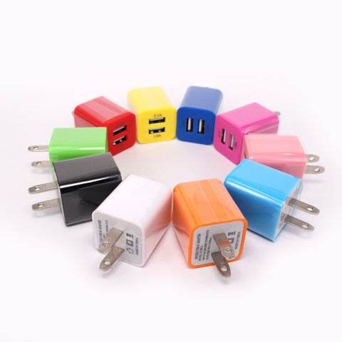 china factory manufacturer dual usb port wall charger