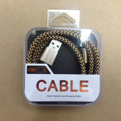 Image of Wholesale seller Copper wire high spped charging 2A extra thick braided cable for android, Apple, Type C