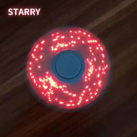 Image of Wholesale Supplier LED Display Fidget Spinner Finger Plastic EDC Hand Spinner For Autism and ADHD Relief Focus Anxiety Stress Wheel Toys China