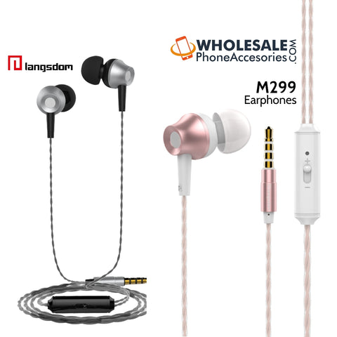 Image of wholesale china supplier factory langsdom earphones m299 cheap price distributor