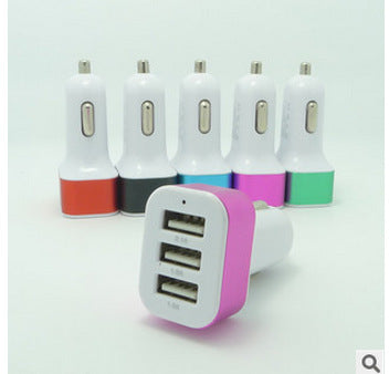 Image of China Wholesaler 3.1a 3 USB Ports Car Charger Bulk Lots Price