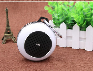NBY 320 Mini Portable FM Bluetooth Speaker Wireless wiht colorful LED lights