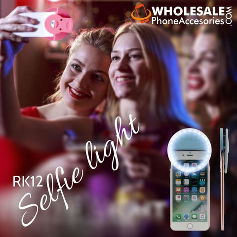 Wholesale USA Distributor Factory China Supplier RK 12 Selfie Ring Light Cheap Price