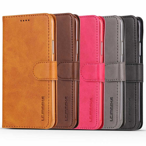 Image of    Supplier Cheap Price Wholesale USA Distributor  LC.IMEEKE iPhone X 8 8Pus 7 7Plus 6/6s 6Plus/6sPlus Wallet  Stand PU Leather Case Factory China
