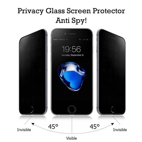 Factory Cheap Bulk China Wholesale Price Privacy glass Screen Protector Anti Spy lots USA Supplier DIstributor