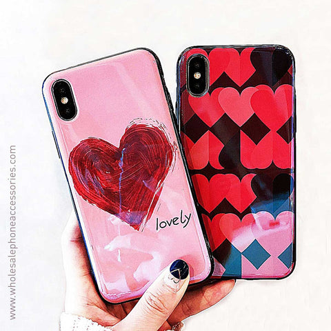 China Supplier Heart Series2 Case for iPhone X Cheap Price Wholesale USA Distributor Factory Bulk Lots Manufacturer
