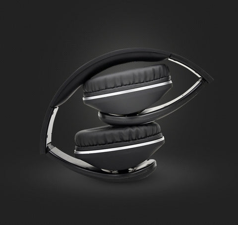 Image of Latest BT-990 Headband Bluetooth Wireless Headphone Stereo Foldable Adjustable Length Voice Prompt