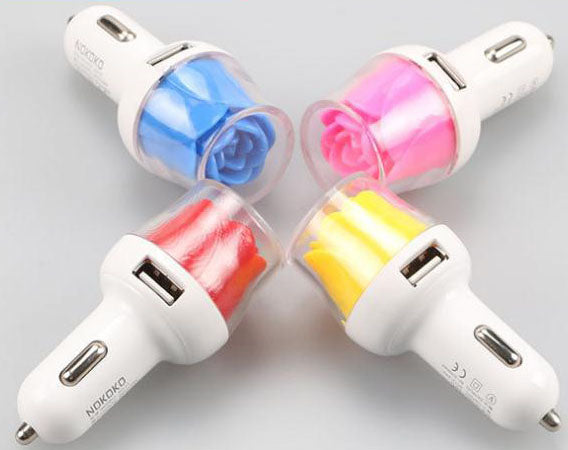 3.1a high quality fast charging dual usb port car charger