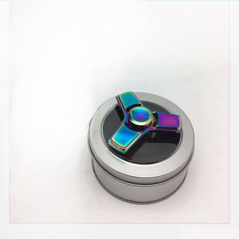 Cheap China Antistress Figid Spinner Dazzle Colour Aluminum Alloy Rainbow Multi Color