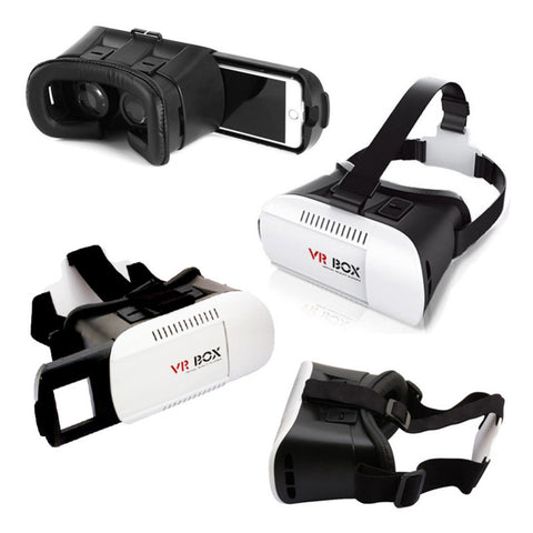 Image of supplier china factory google cardboard virtual reality 3d headset vr box glasses