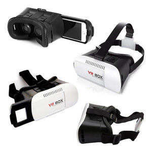 supplier china factory google cardboard virtual reality 3d headset vr box glasses