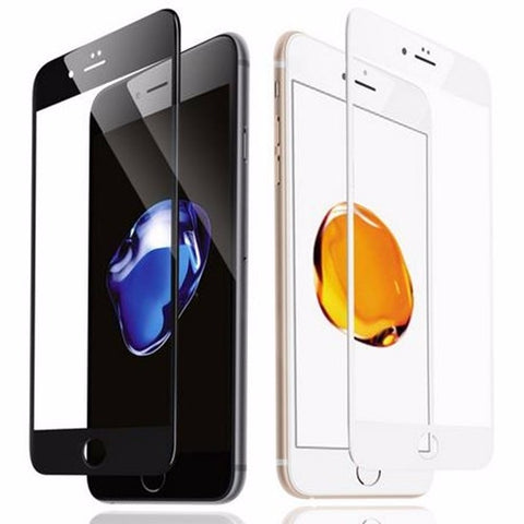Image of Carbon Fibre Soft Edge 3D Curved Full Cover Tempered Glass Screen Protector For iPhone & Samsung models