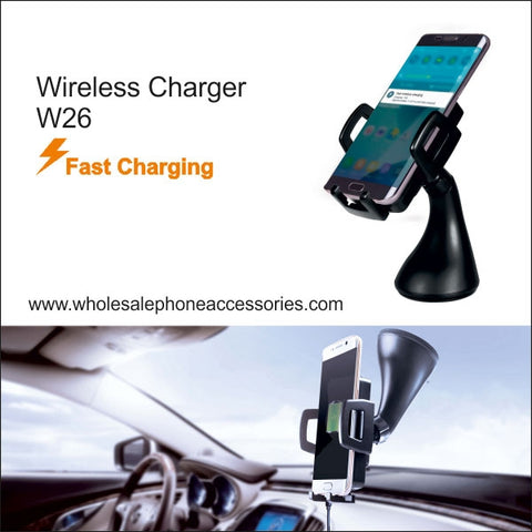 Image of Wholesale China Factory Supplier Wireless Charger W26 Cheap Price usa Distributor