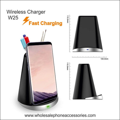 Image of Wholesale China Factory Supplier Wireless Charger W25 Cheap Price usa Distributor