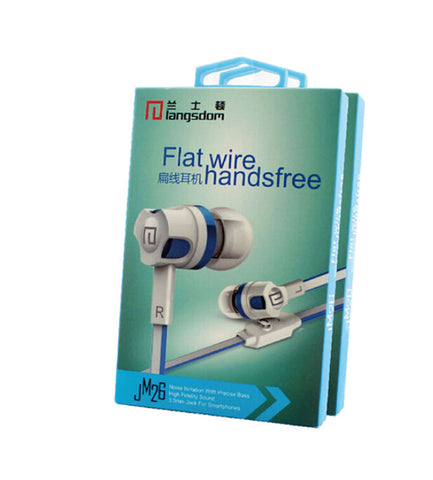 Wholesale China Langsdom JM26 Flat Cable Earbuds Supplier