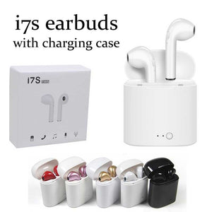 i7s Bluetooth 5.0 earbuds TWS Twins Wireless with Charging Case [August Edition]