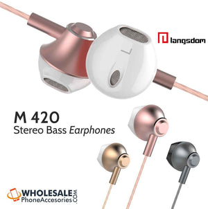 wholesale factory china supplier langsdom earphones m420 cheap price ditributor