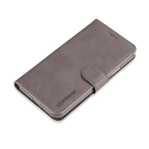 LC.IMEEKE PU Leather Wallet Case with Stand for all iPhone models