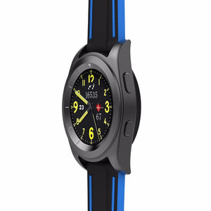 No.1 G6 Smartwatch Heart Rate Fitness Tracker with  Metal Strap