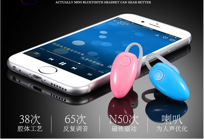 New Arrvial D6 Mini Wireless Stereo Bluetooth Earphones bluetooth v4.1 earphones Multipoint Connection For Smart phone