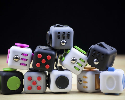 Magic Fidget Cubes Mini Anti Stress Toy Novelty Item