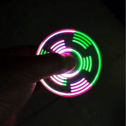 Image of New Fidget LED Light Spinner HandSpinner Finger Toys For Autism and ADHD Relief Focus Anxiety Stress 3pcslot Hand Spinner Wholesale China Bulk Supplier