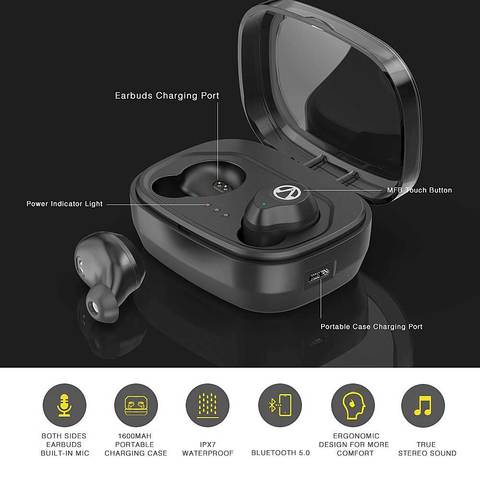 Image of X10 TWS 5.0 3D Stereo Sound Wireless Bluetooth earbuds One touch AI