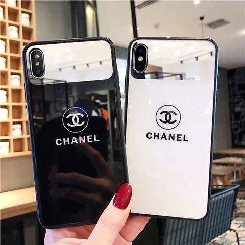 TPU Electroplated Brand Name iPhone Cases