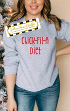 Load image into Gallery viewer, Chick-Fil-A Diet Sweatshirt