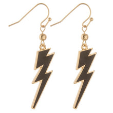Load image into Gallery viewer, Lightning Bolt Earrings ⚡️
